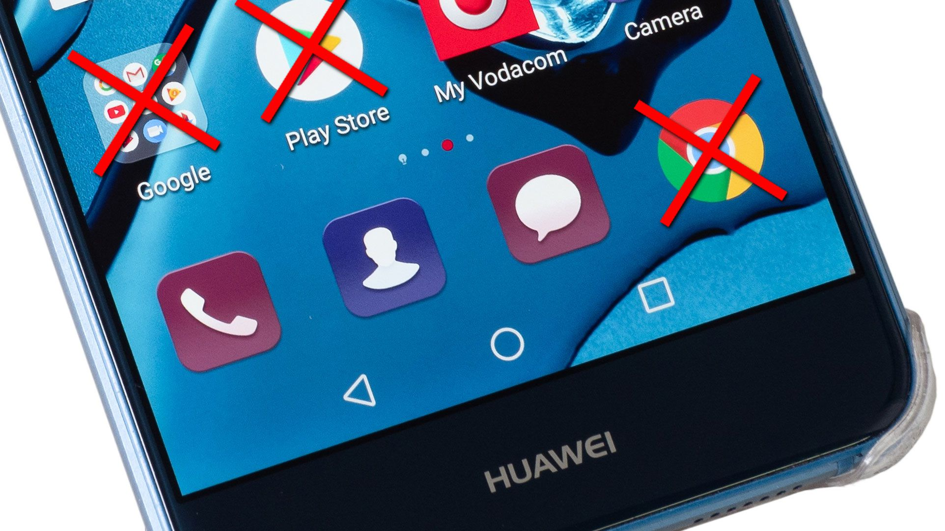 Photo of Huawei responds to Google's suspension of support for some businesses: China's market is not affected.